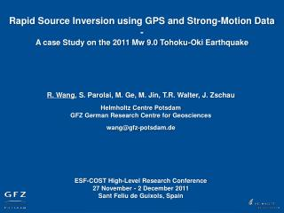 Rapid Source Inversion using GPS and Strong-Motion Data -