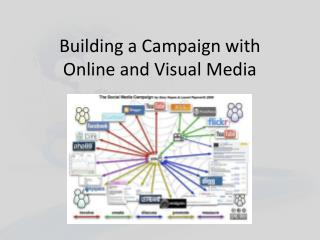 Building a Campaign with Online and Visual Media