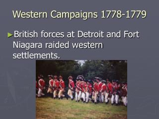 Western Campaigns 1778-1779