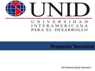 Proyecto Terminal
