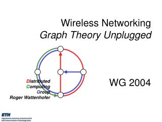 Wireless Networking Graph Theory Unplugged      WG 2004