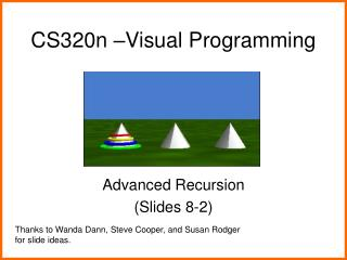 CS320n –Visual Programming