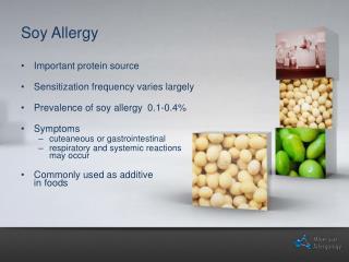 Soy Allergy