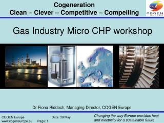 Gas Industry Micro CHP workshop
