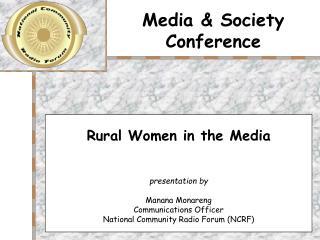 Media & Society Conference