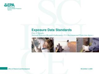 Exposure Data Standards