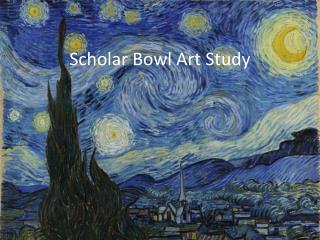 Scholar Bowl Art Study