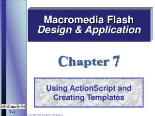 Using ActionScript and Creating Templates