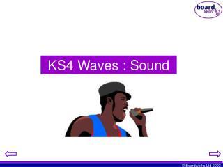 KS4 Waves : Sound
