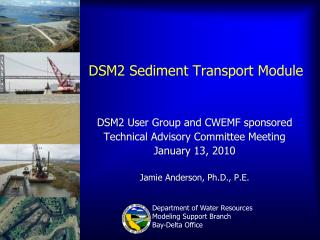 DSM2 Sediment Transport Module
