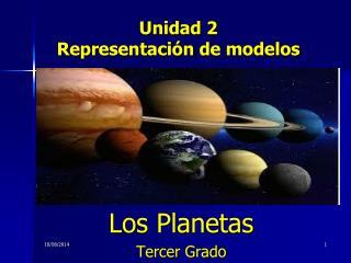 Unidad  2 Representación  de  modelos