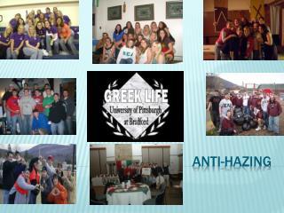 Anti-Hazing