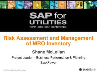 Risk Assessment and Management of MRO Inventory