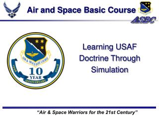 Air and Space Basic Course