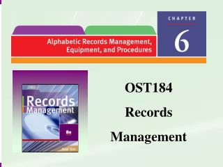 OST184 Records Management
