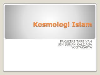 Kosmologi Islam