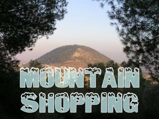 Mountain Shopping