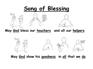 Song of Blessing
