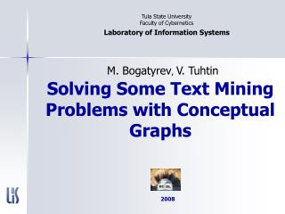 Solving Some Text Mining Problems with Conceptual Graphs