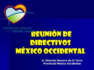 Reunión de directivos  méxico  occidental