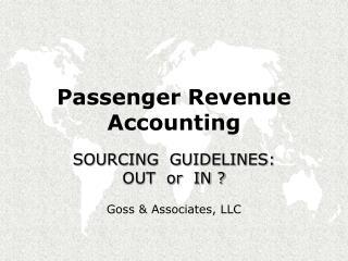 Passenger Revenue Accounting