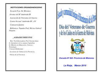 Escuela y comunidad festejan el Bicentenario de la Patria.