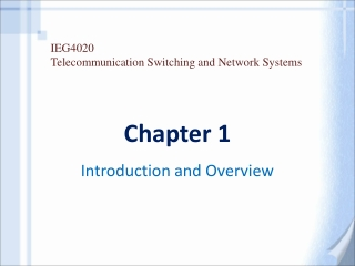 Chapter 1: Introduction to Networks  and Networking Concepts