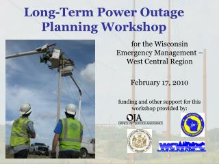 Long-Term Power Outage Planning Workshop