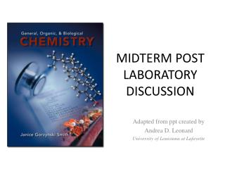 MIDTERM POST LABORATORY DISCUSSION