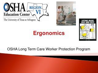 OSHA Long Term Care Worker Protection Program