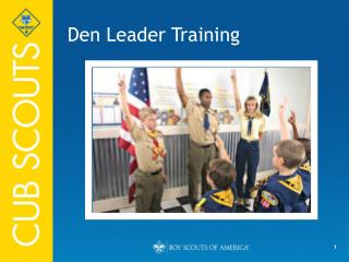 Den Leader Training