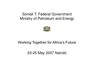 Somali T. Federal Government Ministry of Petroleum and Energy