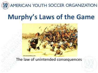 Murphy's Laws of the Game