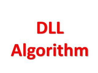 DLL Algorithm