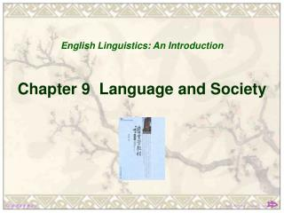 Chapter 9  Language and Society