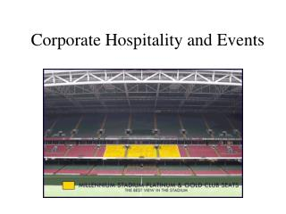 Corporate Hospitality and Events