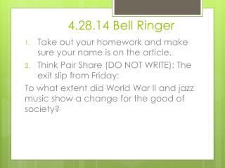 4.28.14 Bell Ringer