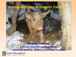Ragnar Leming Estonian University of Life Sciences,