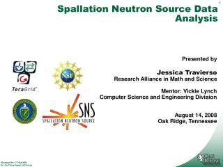 Spallation Neutron Source Data Analysis