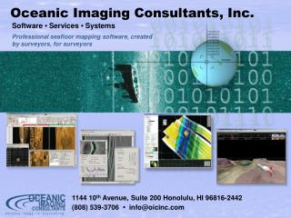 1144 10 th  Avenue, Suite 200 Honolulu, HI 96816-2442  (808) 539-3706   •   info@oicinc