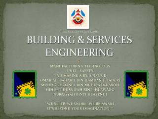 MAKTA KEJUTERAAN JFERI BOLKIAH BUILDING & SERVICES ENGINEERING