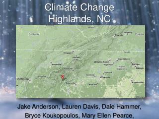 Climate Change Highlands, NC