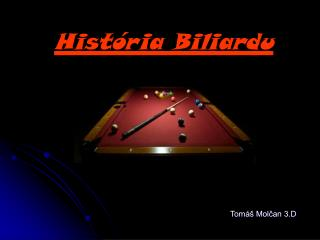 História Biliardu