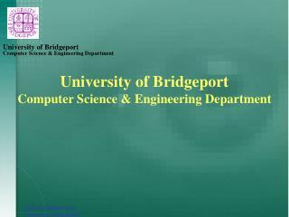 Computer Science & Engineering Department