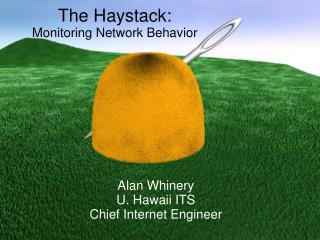 The Haystack: Monitoring Network Behavior