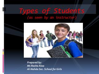 Types of Students (as seen by an instructor)