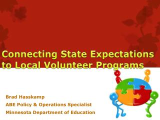Connecting State Expectations to Local Volunteer Programs
