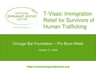 T-Visas: Immigration Relief for Survivors of Human Trafficking