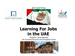 Learning For Jobs in the UAE