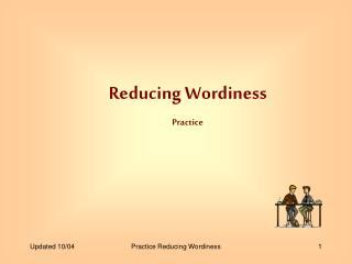 Reducing Wordiness Practice